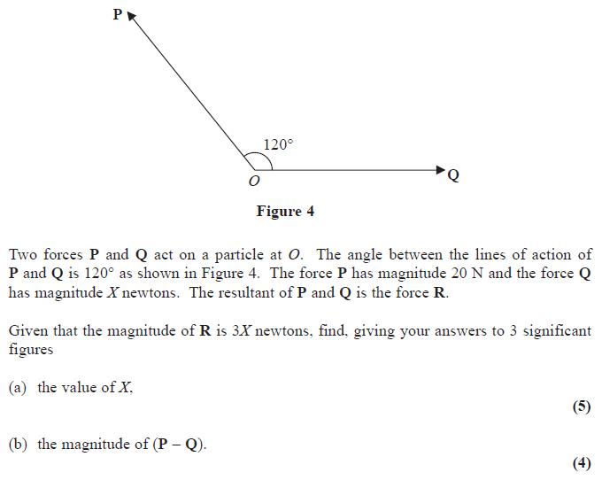 Edexcel M1 June 2014 – Q6