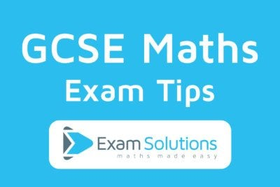 GCSE Maths Exam Tips