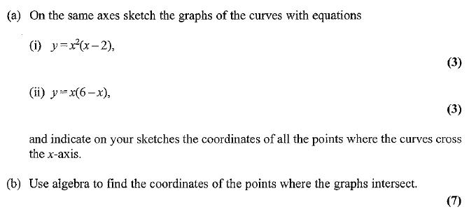 Edexcel C1 January 2007 – Q10