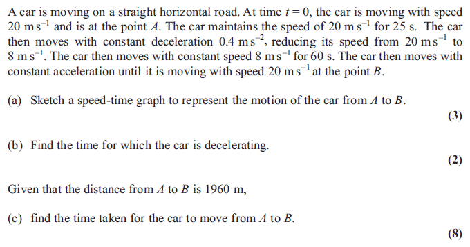 Exam Questions Velocity time graphs ExamSolutions – Distance and Displacement Practice Worksheet