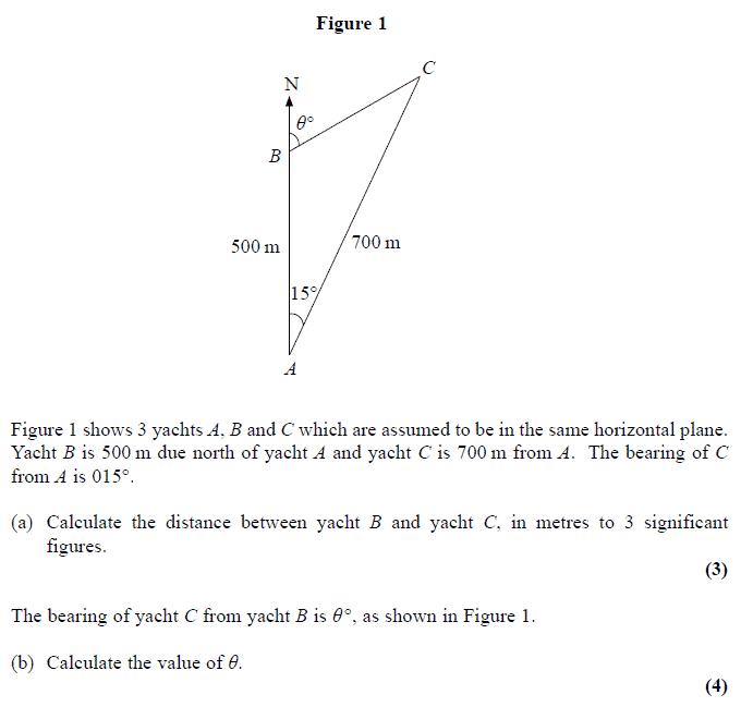 Edexcel C2 January 2008 – Q6