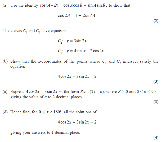 Exam Questions Harmonic Identities And Equations Examsolutions