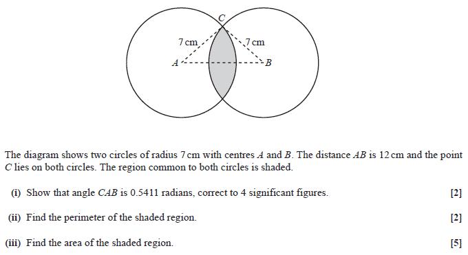 OCR C2 January 2013 – Q7