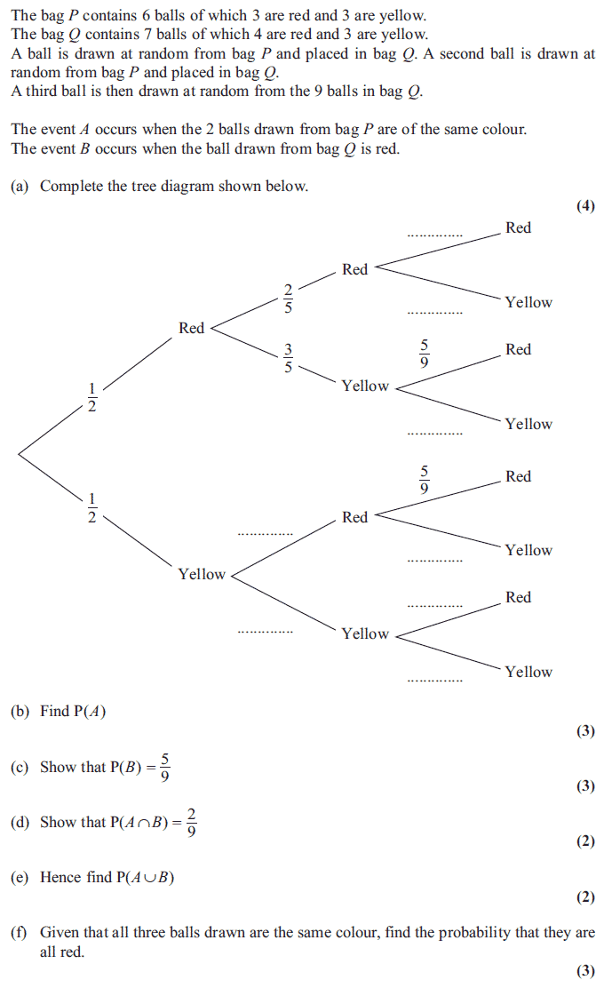 Tree diagram math questions product wiring diagrams exam questions tree diagrams examsolutions rh examsolutions net saxon math tree diagram probability tree diagram math ccuart