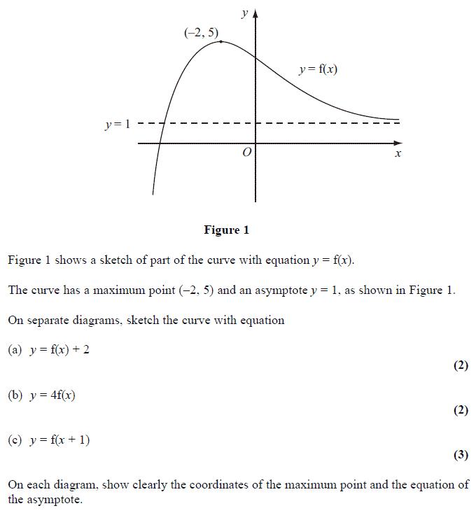 Edexcel C1 January 2010 – Q8