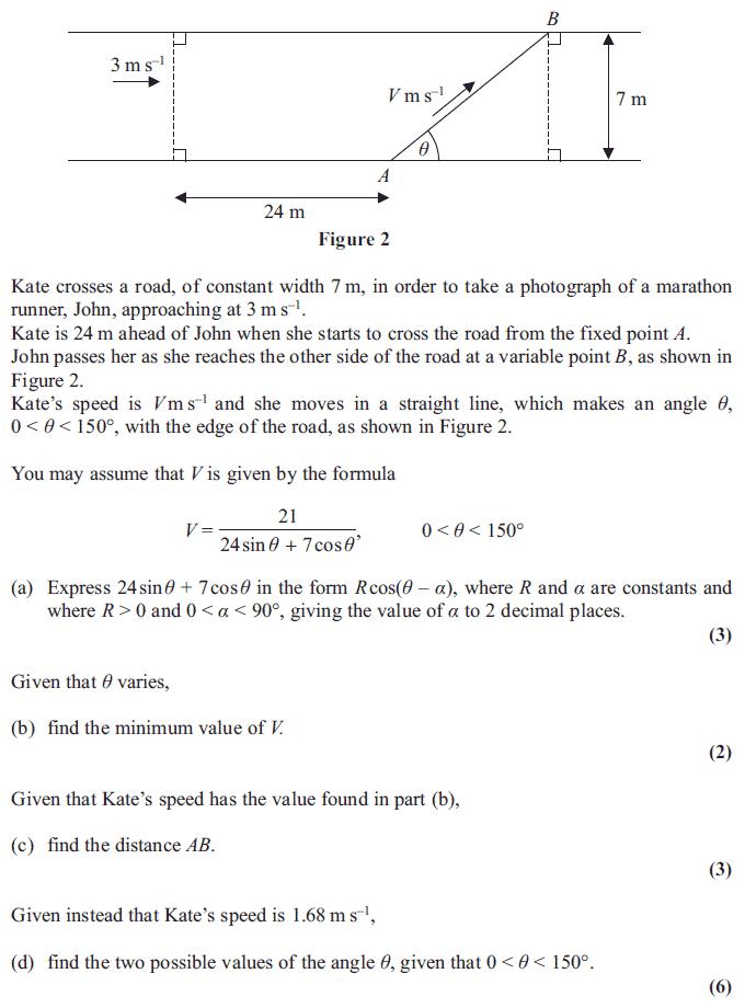 Edexcel C1 June 2013 – Q8