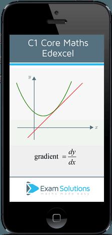 Edexcel C1 App