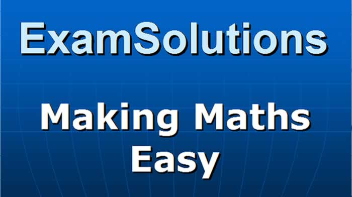 examsolutions video