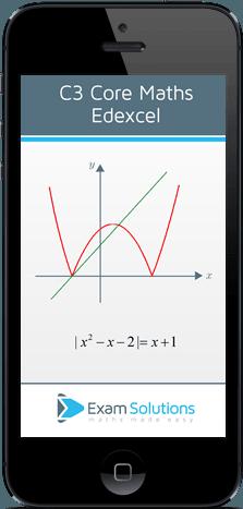 Edexcel C3 app