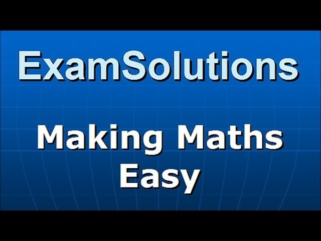 Edexcel a level maths and further maths tutorials examsolutions fandeluxe Images