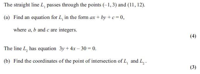 Edexcel C1 June 2013 Q6