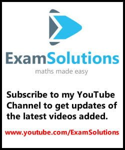 Edexcel A-Level Maths and Further Maths tutorials