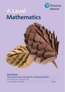 Edexcel Pure Maths A Level Specification
