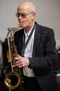 Stuart Sidders Sax Player
